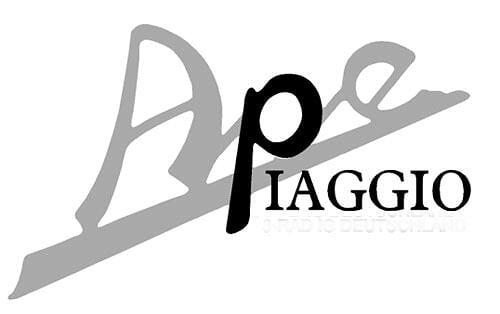 Piaggio Ape Logo ig Ape Piaggio Deutschland